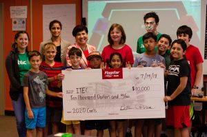 Flagstar Foundation funds 2020 Girls with $10,000 grant